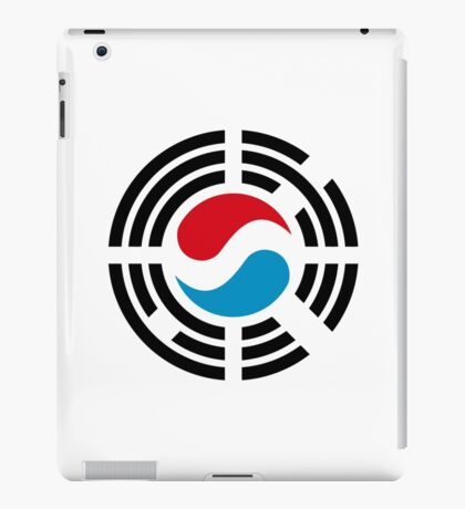 Korean Luxembourg Multinational Patriot Flag Series iPad Case/Skin