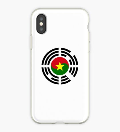 Korean Burkina Faso Multinational Patriot Flag Series iPhone Case