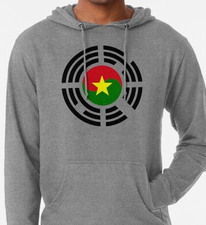 Korean Burkina Faso Multinational Patriot Flag Series Lightweight Hoodie