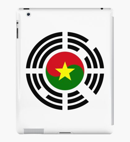 Korean Burkina Faso Multinational Patriot Flag Series iPad Case/Skin