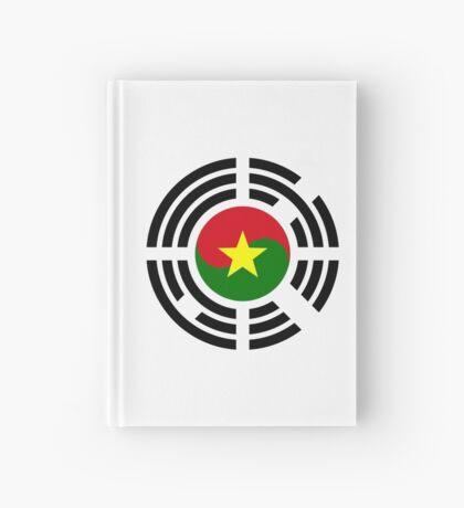 Korean Burkina Faso Multinational Patriot Flag Series Hardcover Journal