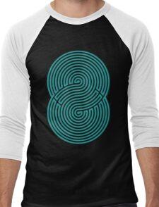 Brain game: Labyrinth - Laberinto Men's Baseball ¾ T-Shirt
