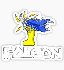 Falcon Knee Sticker