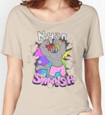 Nyan SMASH Women's Relaxed Fit T-Shirt