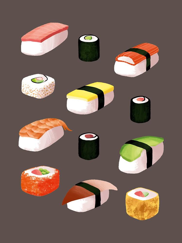 sushi by skrich