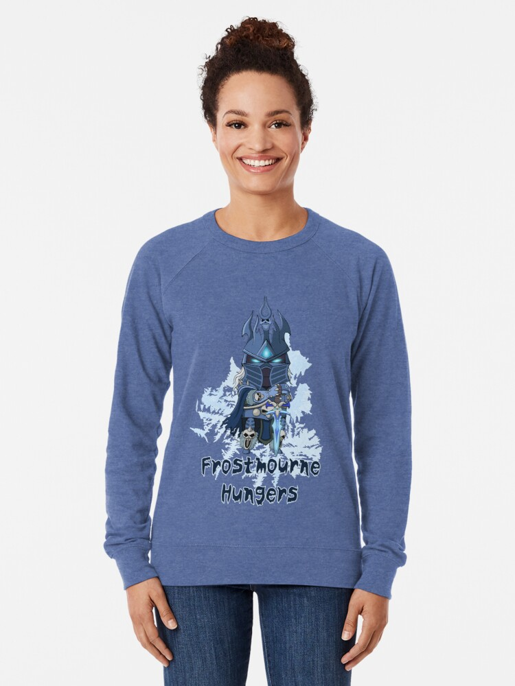 Alternate view of Frostmourne Hungers Lightweight Sweatshirt