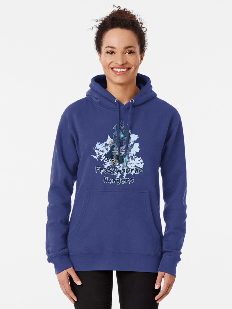 Alternate view of Frostmourne Hungers Pullover Hoodie