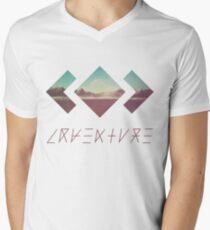 Camiseta para hombre de cuello en v Aventuras