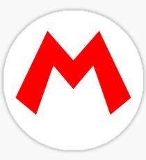 Mario Symbol Sticker