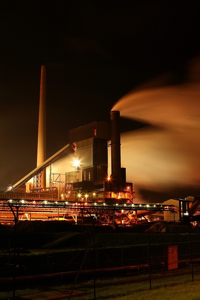 Steelworks by Ken Boxsell