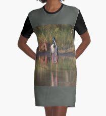 On Stilts Graphic T-Shirt Dress