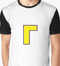 Waluigi Symbol Graphic T-Shirt