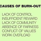 Causes of Burnout by suranyami