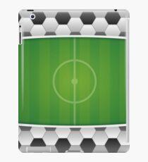 Geometric Sports Lover Soccer Stadium iPad Case/Skin