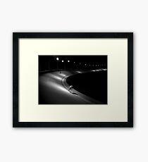 concrete_only 01 Framed Art Print