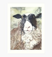 Ewe Delight Art Print