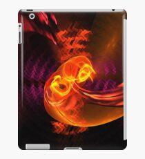 Fiery swirl iPad Case/Skin