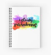I Study Rainbows Spiral Notebook