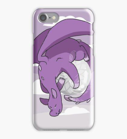 Clear Quartz Dragon  iPhone Case/Skin