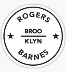 ROGERS & BARNES Sticker