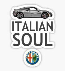 Italian Soul (minus ARoB logo) Sticker