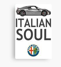 Italian Soul (minus ARoB logo) Canvas Print