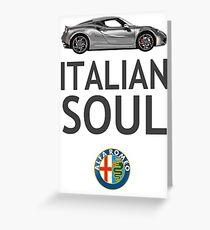 Italian Soul (minus ARoB logo) Greeting Card