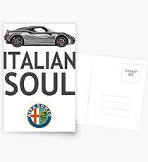 Italian Soul (minus ARoB logo) Postcards