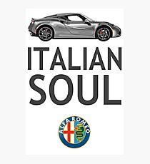 Italian Soul (minus ARoB logo) Photographic Print