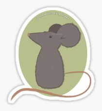 Cute Little Mouse Sticker