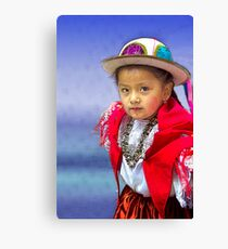 Cuenca Kids 764 Canvas Print