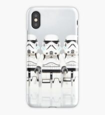Storm Trooper Line up iPhone Case/Skin
