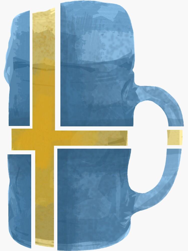 Sweden Beer Flag by herbertshin