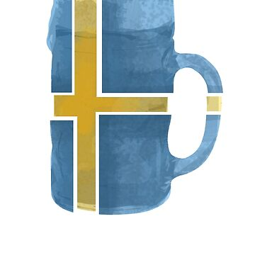 Sweden Beer Flag by herbertshin