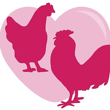 Chicken Love by cesstrelle