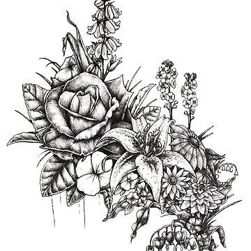 Flower bouquet by E-McAleavey
