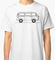 Type 25 or T3 Westfalia Syncro Classic T-Shirt