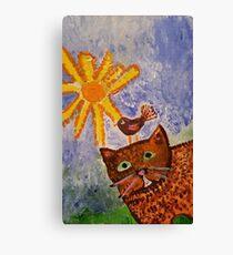 Fair Weather Friends Canvas Print