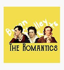 The Romantics in yellow Photographic Print