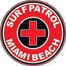 SURF PATROL LIFEGUARD MIAMI BEACH FLORIDA Surf Surfer Surfboard Waves Ocean Beach Vacation by MyHandmadeSigns