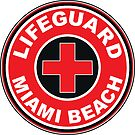 LIFEGUARD SURF PATROL MIAMI BEACH FLORIDA Surf Surfer Surfboard Waves Ocean Beach Vacation by MyHandmadeSigns
