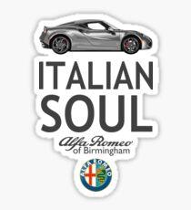 Italian Soul Sticker