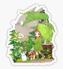 Totoro and friends Sticker