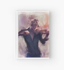Violin and James Carstairs Hardcover Journal