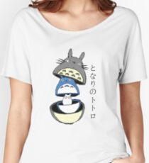 Totoro russian doll Women's Relaxed Fit T-Shirt