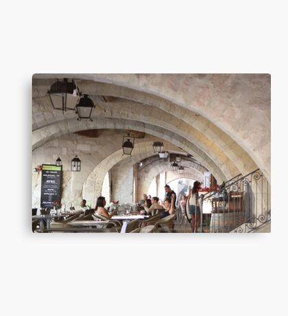 Cool place to chill down Canvas Print