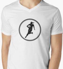 Womens Rugby Men's V-Neck T-Shirt