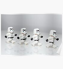 Storm Trooper March Poster