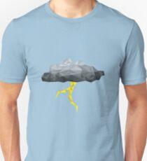 Thunder Cloud Low Poly T-Shirt