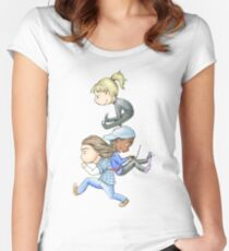 Three of a Kind Women's Fitted Scoop T-Shirt